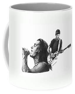 Bono And The Edge Coffee Mug