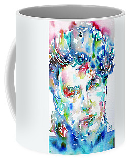 Bono Watercolor Portrait.1 Coffee Mug
