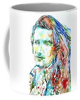 Bono Watercolor Portrait.2 Coffee Mug