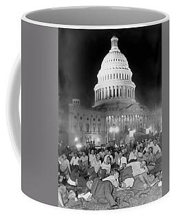 Bonus Army Sleeps At Capitol Coffee Mug