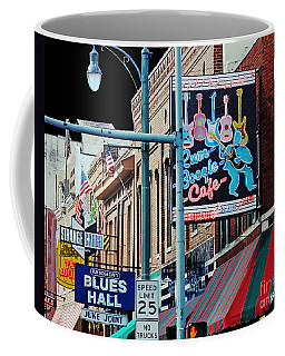 Boogie On Beale St Memphis Tn Coffee Mug