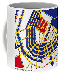 Boogie Woogie Amsterdam Coffee Mug