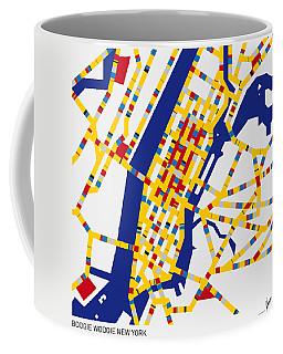 Boogie Woogie New York Coffee Mug