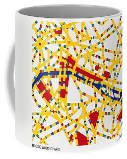 Boogie Woogie Paris Coffee Mug
