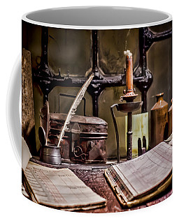 Book Keeper Coffee Mug by Heather Applegate