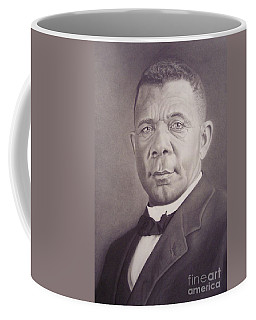 Booker T Washington Coffee Mug by Wil Golden