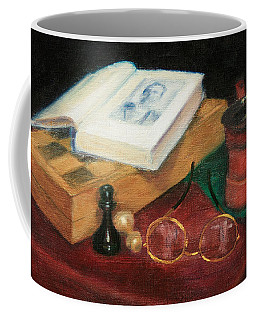 Books-chess-coffee Coffee Mug