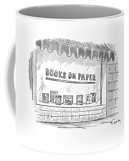 'books On Paper' Coffee Mug