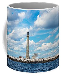 Boon Island Light Station Coffee Mug by James  Meyer
