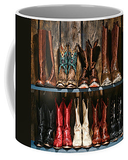 Boot Rack Coffee Mug