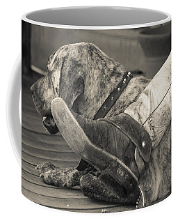 Coffee Mug featuring the photograph Boot Scootin by Steven Bateson