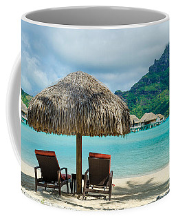 Bora Bora Beach Coffee Mug