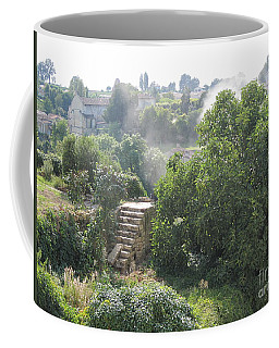 Bordeaux Village Cloud Of Smoke  Coffee Mug by HEVi FineArt
