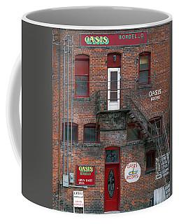 Coffee Mug featuring the photograph Bordello by Leland D Howard