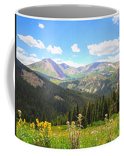 Boreas Pass Summer Coffee Mug by Lanita Williams