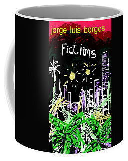 Borges Fictions Poster  Coffee Mug