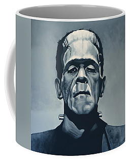Boris Karloff As Frankenstein  Coffee Mug