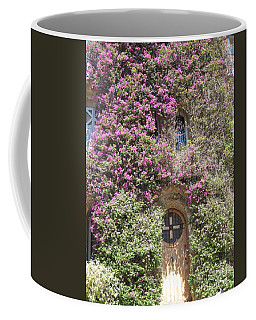 Coffee Mug featuring the photograph Bormes Door by HEVi FineArt