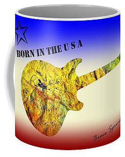 Born In The U S A Bruce Springsteen Coffee Mug