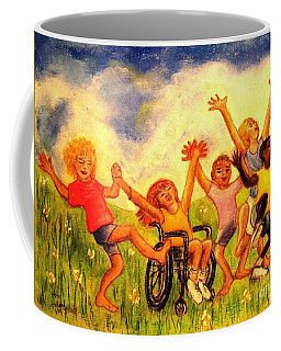 Born To Be Free Coffee Mug by Hazel Holland
