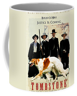 Borzoi Art - Tombstone Movie Poster Coffee Mug