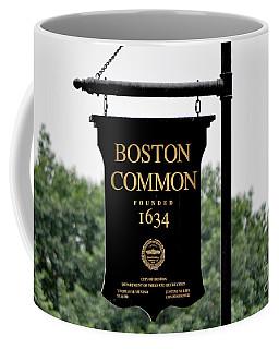 Boston Common Ma Coffee Mug