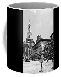 Boston Common Scene Coffee Mug