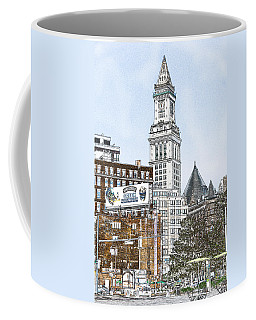 Boston Custom House Tower Coffee Mug