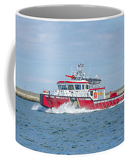 Boston Fire Marine 1 Coffee Mug
