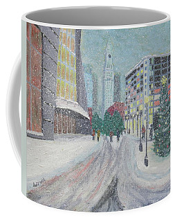 Boston First Snow Coffee Mug