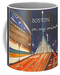 Boston On My Mind Coffee Mug