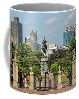 Boston Public Garden Coffee Mug