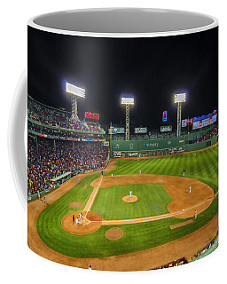 Boston Red Sox And New York Yankees At Fenway Park - Art Coffee Mug