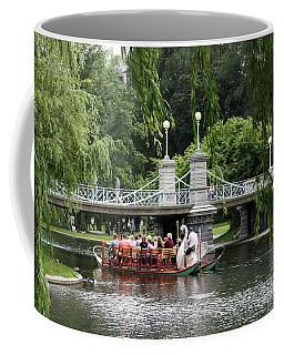 Boston Swan Boat Coffee Mug