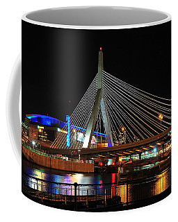 Boston's Zakim-bunker Hill Bridge Coffee Mug