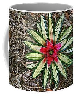 Botanical Flower Coffee Mug by Tom Janca