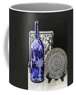 Bottle And Plate Coffee Mug