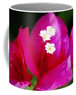 Bougainvillea Blossoms Coffee Mug by Leanne Seymour