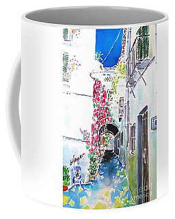 Bougainvillea Path  Coffee Mug