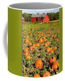 Bountiful Crop Coffee Mug by Kathy Barney