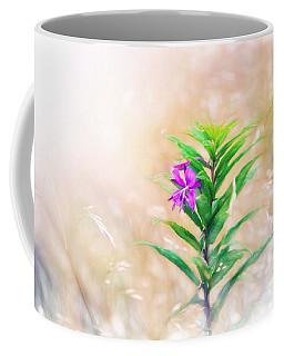 Flower In Digital Watercolor Coffee Mug