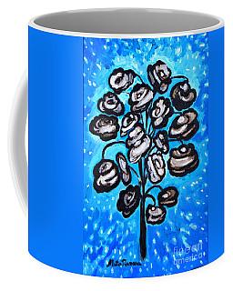 Bouquet Of White Poppies Coffee Mug by Ramona Matei