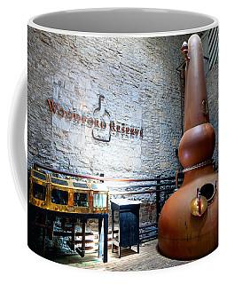 Bourbon Distillery Coffee Mug by Alexey Stiop