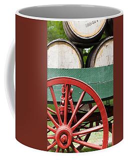Bourbon Wagon Coffee Mug by Alexey Stiop