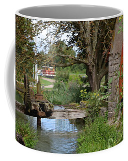 Bouy By Canal Coffee Mug