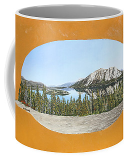 Bove Island Alaska Coffee Mug by Wendy Shoults