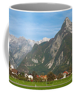 Bovec In Slovenia Coffee Mug