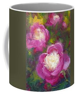 Bowls Of Beauty - Alaskan Peonies Coffee Mug