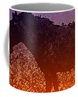 Coffee Mug featuring the digital art Boy With Horse by Cathy Anderson