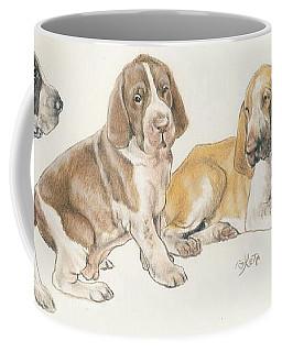 Bracco Italiano Puppies Coffee Mug
